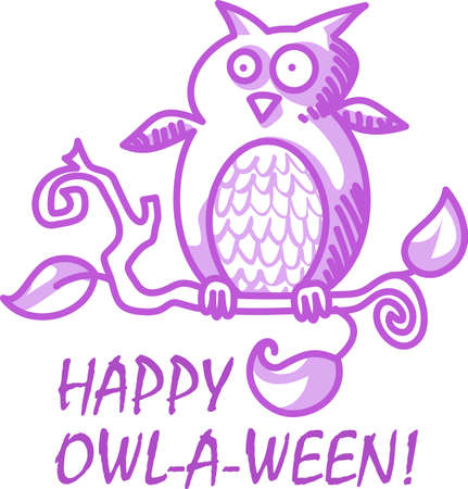 keen: This trick or treat owl is here to wish you a happy Halloween.  Buy this as a special treat.  Your friends will love it.