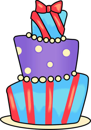 Celebrate a special birthday with a cake.