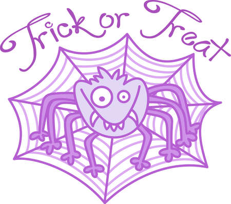 spiderweb: This cute Halloween spooky spider is a perfect treat.  Give it to a child for their Halloween gift.  They will love it!