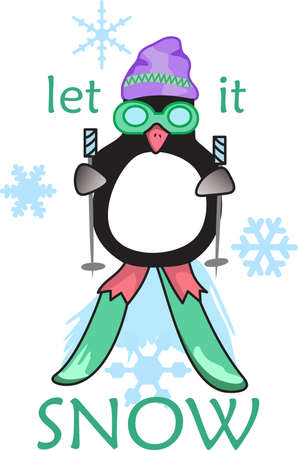 love is it: This adorable little penguin is perfect for your decorating.   The students will love it! Illustration