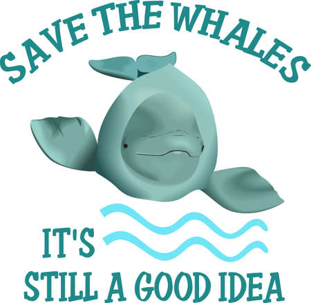 This adorable little whale is perfect for your classroom.  Include this W for whale when decorating.  The students will love it