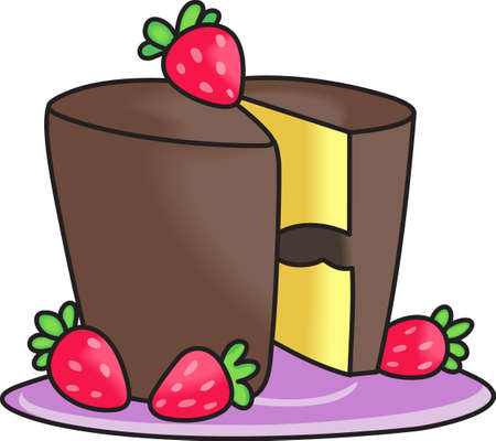 Show your pride for your talent for cake decorating.  Its the perfect advertisement.  Everyone will love them!  イラスト・ベクター素材