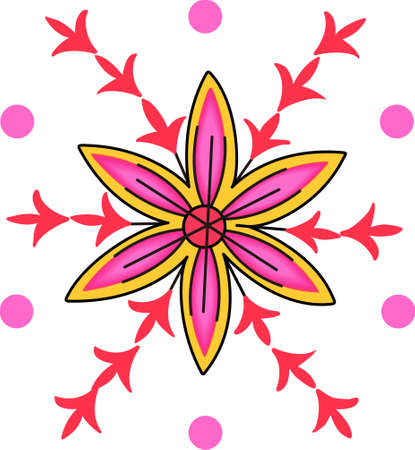 Be happy with the springtime with beautiful flowers.  A beautiful design by Great Notions.