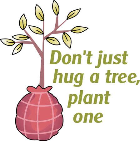 Muestre su amor a la madre tierra. Enviar esto alguien que usted sabe que necesitan recordar lo que pueden hacer para ayudar al medio ambiente. Se les va a encantar! Foto de archivo - 45056475