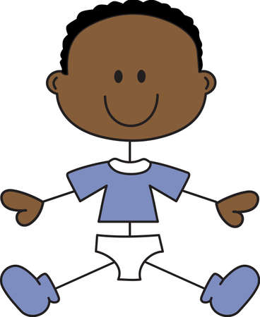 african american boys: Celebrate this wonderful event and give a gift for the baby boy!  The proud parents will love items that are special for their baby boy!