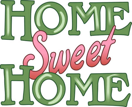 Home is where the family is with peace and harmony.  Have this gift ready to welcome home your child from camp this summer.  They will love it.