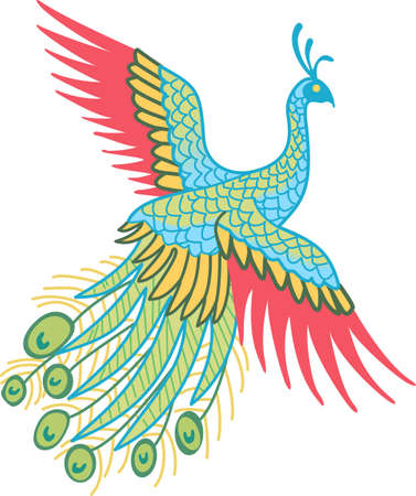 The peacock is a beautiful bird.  It will be perfect for a gift.