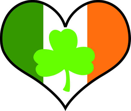 irish pride: Show your Irish pride at Valentines.  Everyone will love it!