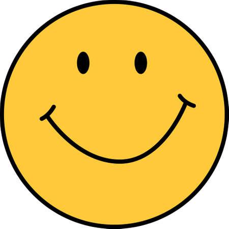 Lächeln Sie einfach, alles wird mit diesem Entwurf von Groß Notions glücklich sein.
