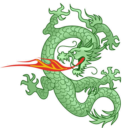 miras: The year of the dragon is part of the Chinese heritage.  Add this really awesome design to a shirt or hat. Çizim