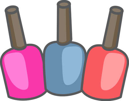 manicurist: Show your pride for your talent for your nail salon.  Its the perfect advertisement.  Everyone will love this design from Great Notions!