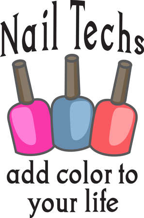 Show your pride for your talent for your nail salon.  Its the perfect advertisement.  Everyone will love this design from Great Notions!