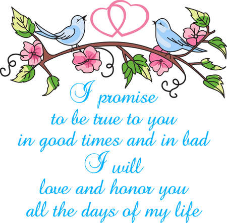 verses: The bluebirds of happiness make a beautiful Valentines design.  Perfect pair of bluebirds with a heart and flowers.