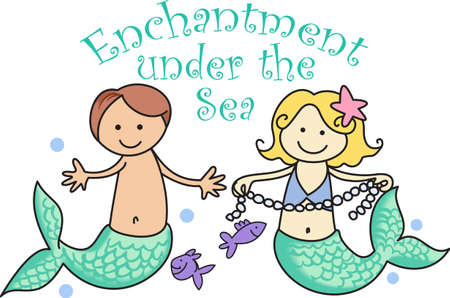 enchantment: Enchantment under the sea.  Get these cute designs for your childs room from Great Notions.