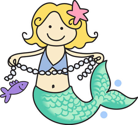 Enchantment under the sea.  Get these cute designs for your childs room from Great Notions.