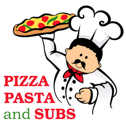 Show your pride for your talent for making pizzas.  Its the perfect advertisement.  Everyone will love them.