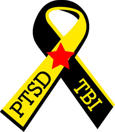 traumatic: Let them know you are proud of your hero.  Show support for our troops with this special design. Illustration