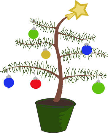 Ho Ho Ho!  Wish a merry Christmas to all with this cute Charlie Brown Tree, they will love it.