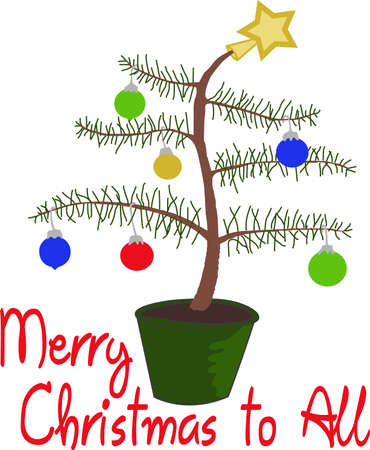 ho: Ho Ho Ho!  Wish a merry Christmas to all with this cute Charlie Brown Tree, they will love it.