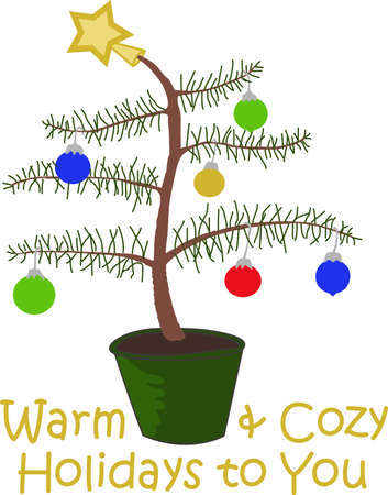 charlie: Ho Ho Ho!  Wish a merry Christmas to all with this cute Charlie Brown Tree, they will love it.