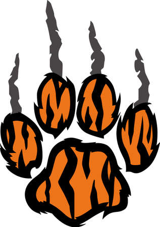 siberian tiger: Show your team spirit with this bulldog logo.  Everyone will love it! Illustration