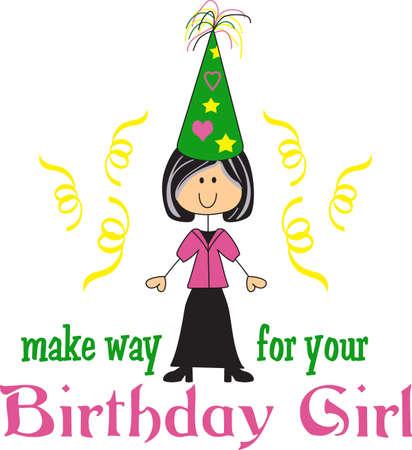 Planification de la fête d'anniversaire parfait avec un peu de magie peut-être même plus de plaisir avec ces faveurs du parti. Tout le monde va les aimer! Banque d'images - 45056969