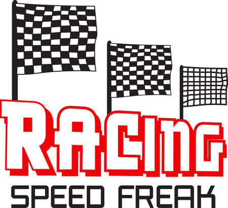 Start your engines its time to race.  Get these designs from Great Notions. 向量圖像