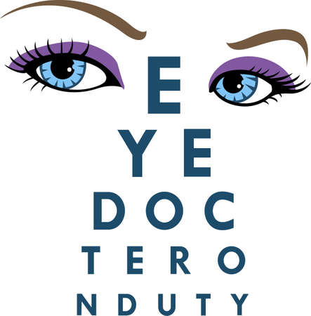 esculaap: Its the perfect advertisement for your optometry business.  Get these designs from Great Notions. Stock Illustratie
