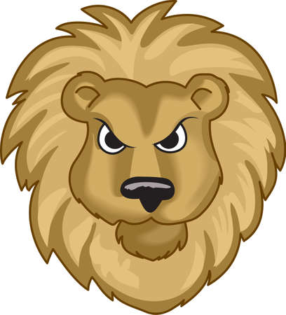 Time to cheer for the team with this Lions mascot design.  A perfect design for all the fans from Great Notions.