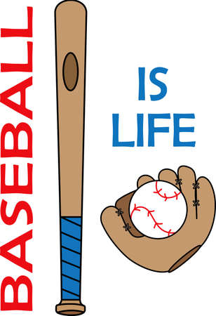batting: You spend hours dreaming, practicing the sport and playing on the baseball field.  Baseball is life!  Your baseball player will love this.