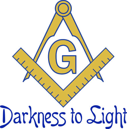 freemasonry: The symbol represents freemasonry.  It stands for faith, hope and charity.  Add this design to a gift to a Master Mason.  Get these designs from Great Notions.