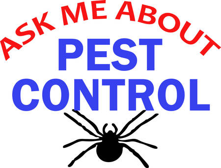 Its the perfect advertisement for your pest control business.  Get these designs from Great Notions. Reklamní fotografie - 45057374