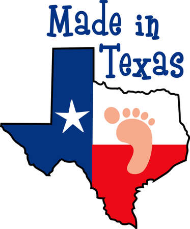 texan: The Texas star is a perfect addition to your Texan proud theme. Get these designs from Great Notions.