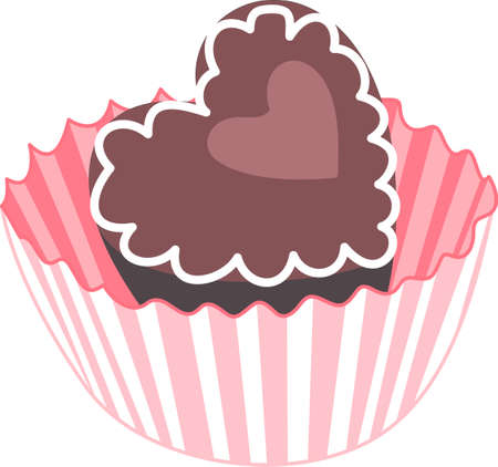 Kids enjoy chocolate for an afternoon treat.  These are perfect to go on a picnic.  Everyone will love them! Illustration