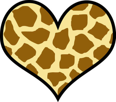 further: Look no further for a unique Valentines heart.  This leopard print is a neat design from Great Notions.