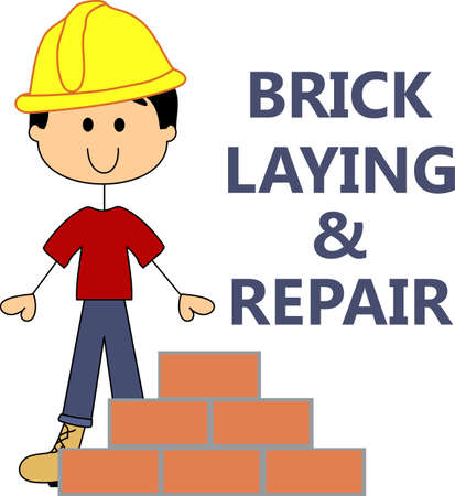 Its the perfect advertisement for your brick mason business.  Get these designs from Great Notions.