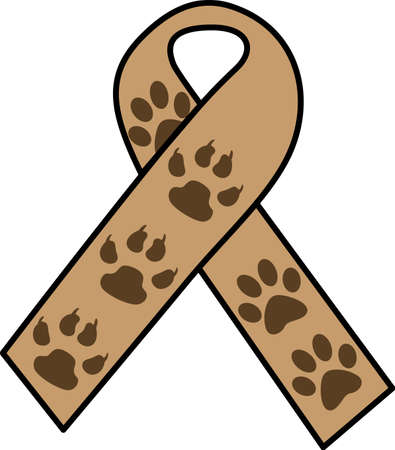 awareness ribbons: Make awareness for being a foster parent to a pet in need.  Get these designs from Great Notions.