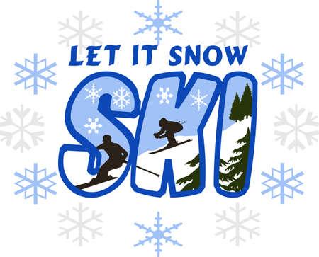 Ceci est parfait pour porter cette conception de l'hiver tout en profitant de jeu ou le ski. Votre famille va adorer! Banque d'images - 45057635