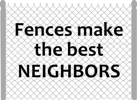 notions: Its the perfect advertisement for your fencing business.  Get these designs from Great Notions.