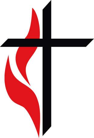 그의 십자가와 부활은 위대한 관념에 의해 그 디자인을 선택의 때문에 십자가는 그리스도를 나타냅니다! 스톡 콘텐츠 - 45057652