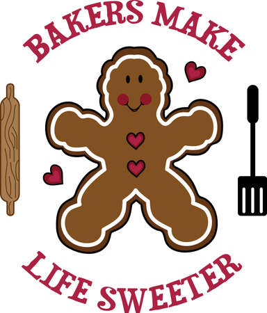 ginger bread man: This gingerbread man is the perfect applique for your Christmas jacket.  Get these designs from Great Notions.