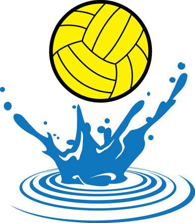 waterpolo: Waterpolo spel te genieten voor zowel jongens als meisjes, pak die ontwerpen door Groot Notions.