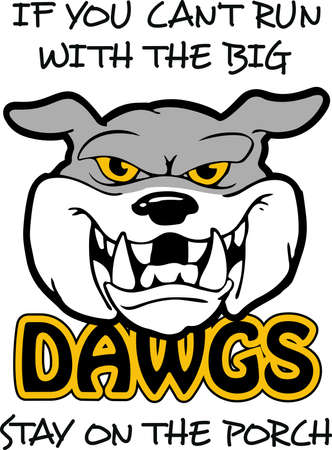 corps: Show your team spirit with this Bulldog logo.  Everyone will love it!