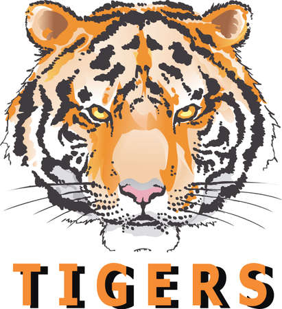 wildcat: Show your team spirit with this Louisiana Tigers logo.  Everyone will love it!