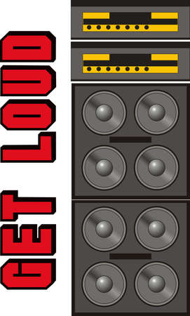 Its the perfect advertisement for your DJ business.  Get these designs from Great Notions. Stock fotó - 45057732