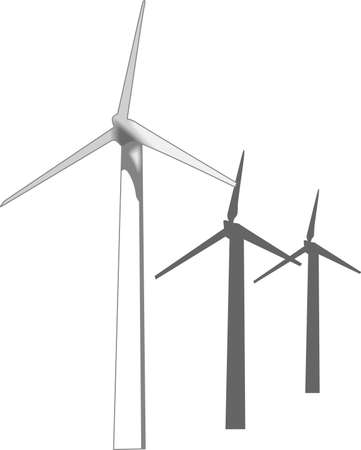 generators: Its the perfect advertisement for your turbine business.  Get these designs from Great Notions. Illustration