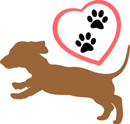 bred: Show everyone how much your dog means to you.  They will love it! Get these designs from Great Notions.