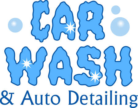 A car wash is the perfect fundraiser for your group.  Promote it with this design from Great Notions