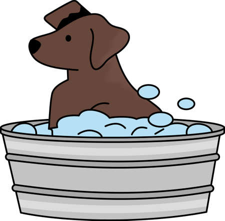 designate: Designate the towel used for the dog so they know here comes the bath.  A cute design from Great Notions.
