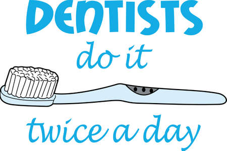 Smile with your beautiful smile.  Make sure to brush your teeth.  Get these designs from Great Notions.